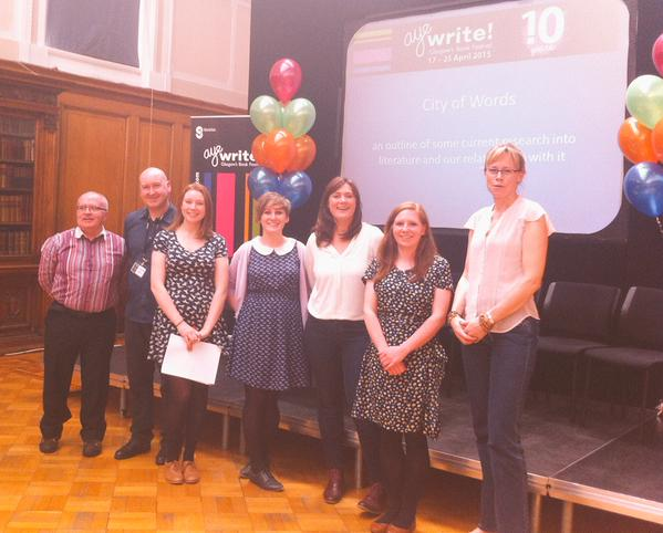 PhD Researchers at AyeWrite! City of Words